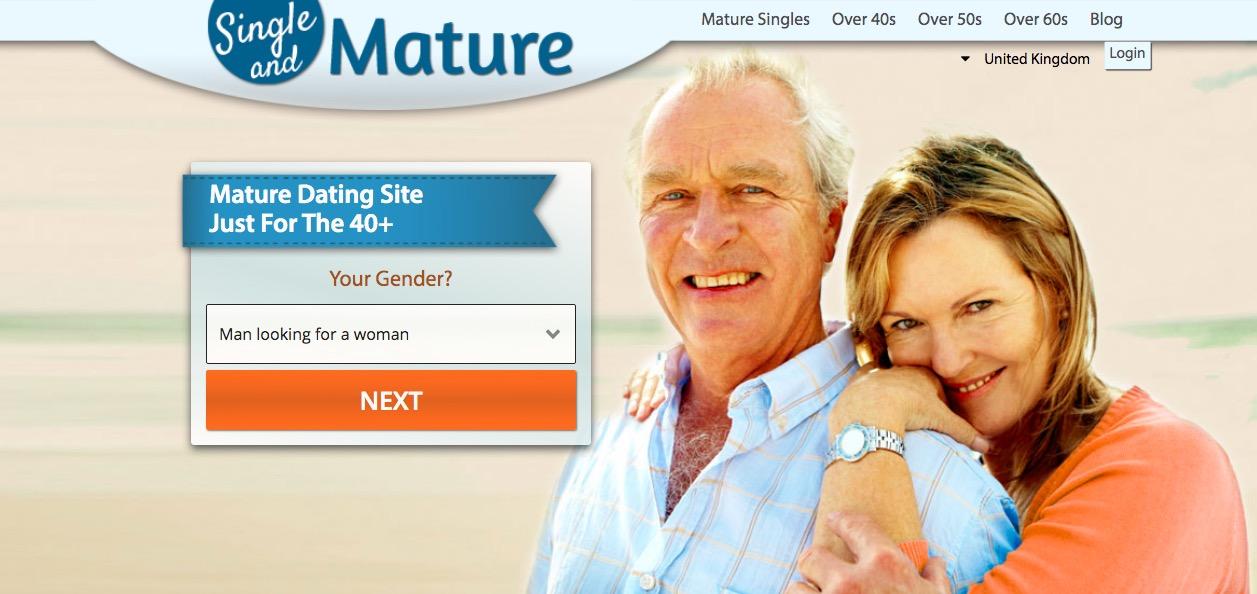 SingleAndMature main page