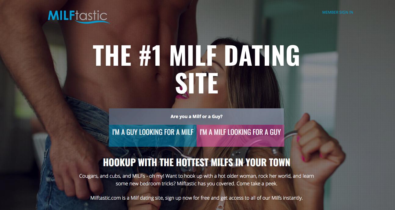 main page MILFtastic