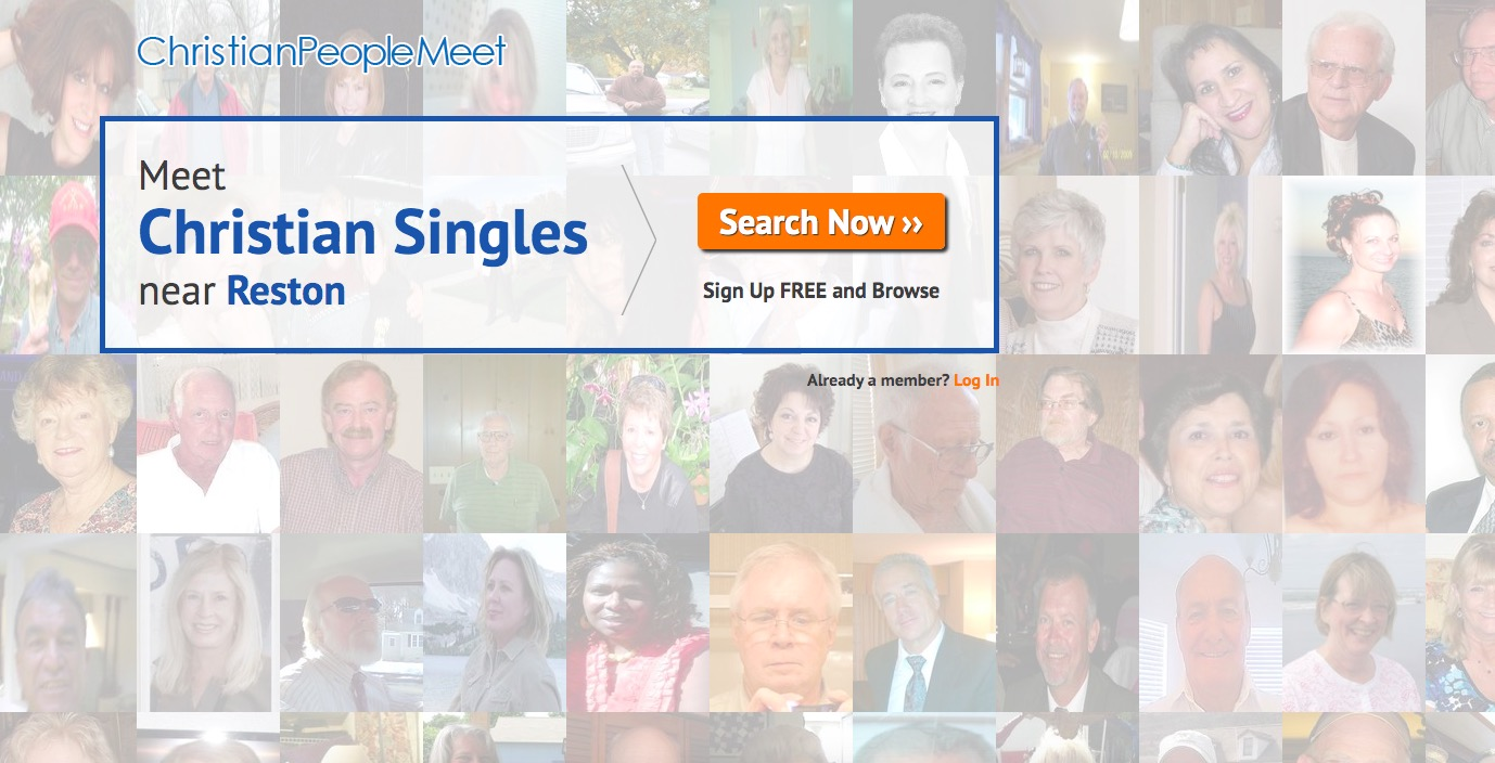 ChristianPeopleMeet main page