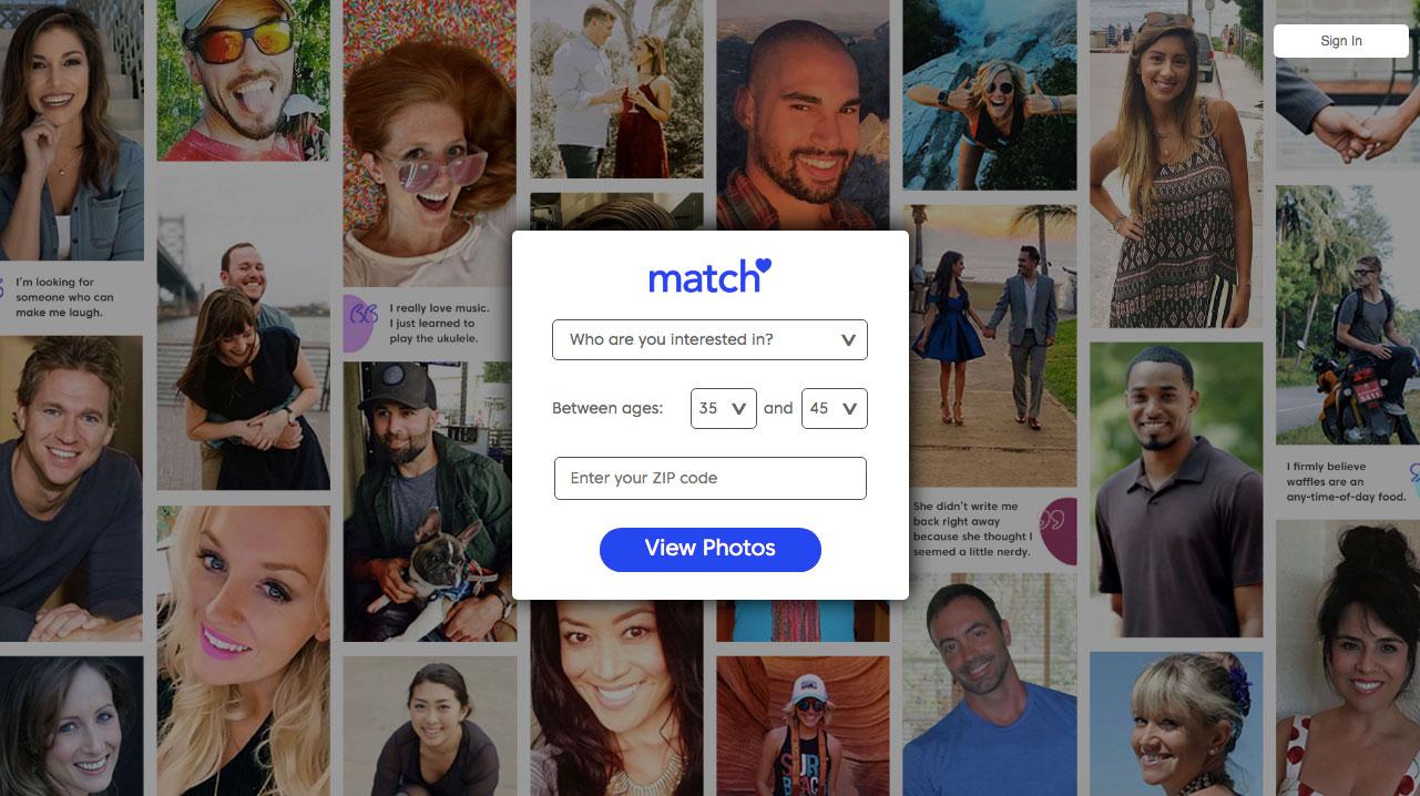 main page Match.com