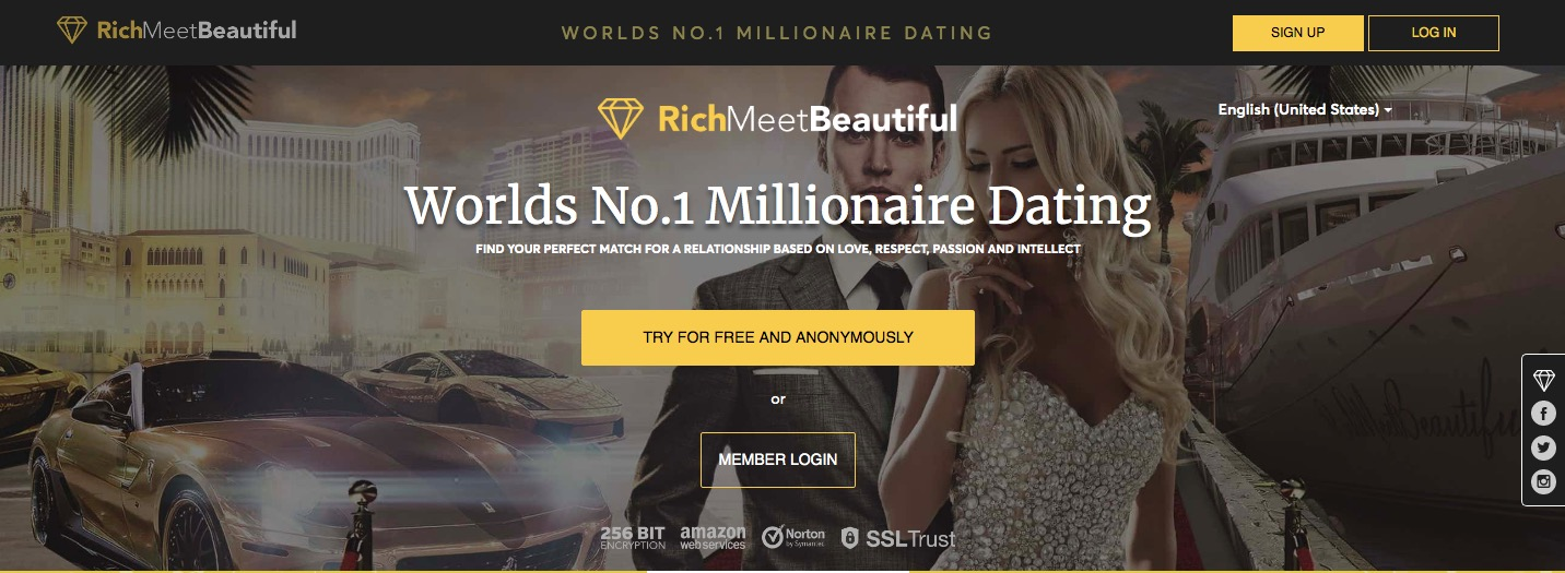 RichMeetBeautiful main page