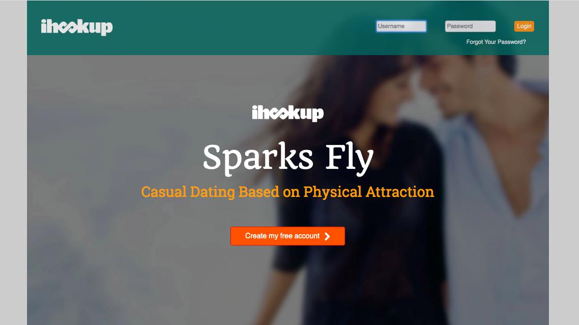 main page Ihookup.Com