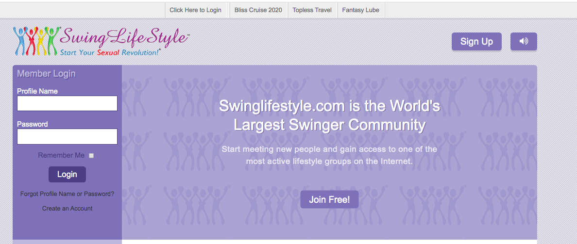 main page SwingLifestyle